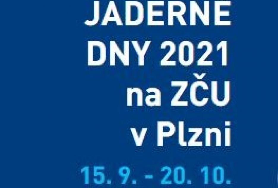 Odborná konference JADERNÉ DNY 2021 - POZVÁNKA
