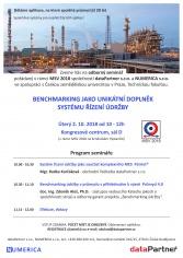 Pozvánka na seminář Benchmarking