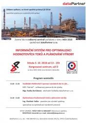 Pozvánka na seminář Plánování výroby
