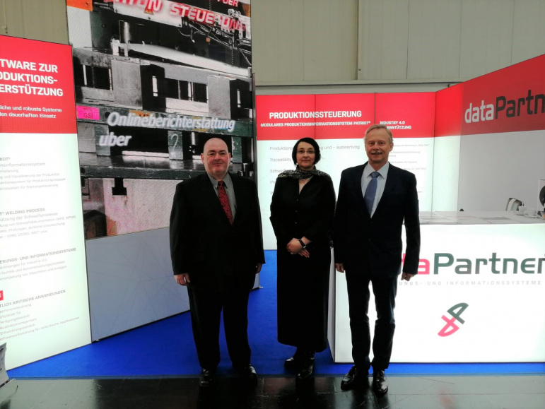 dataPartner HANNOVER MESSE