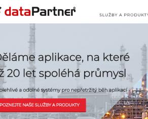 Nové webové stránky dataPartner