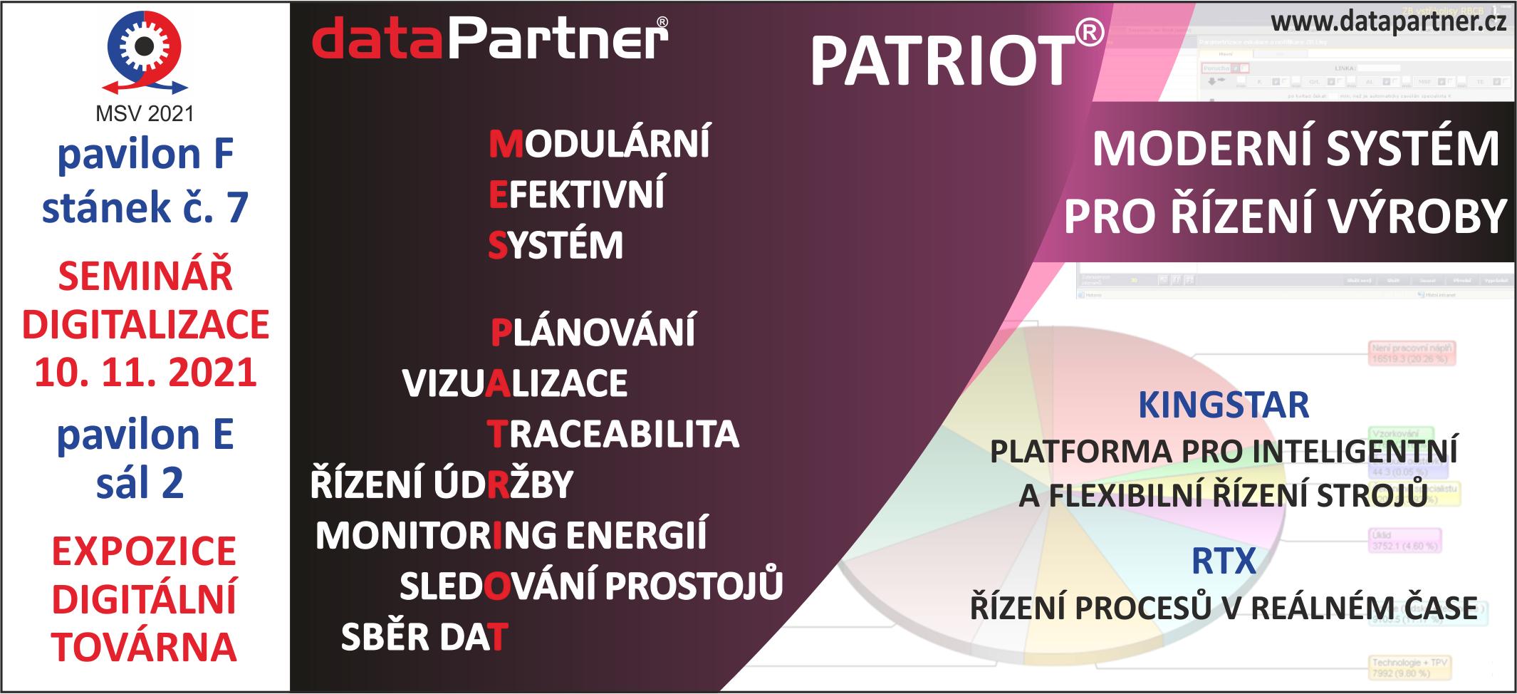 POZVÁNKA DATAPARTNER MSV 2021